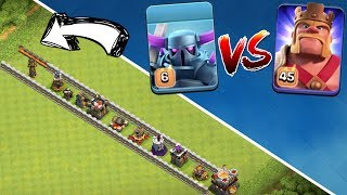 MAXED PEKKA vs MAXED KING! || CLASH OF CLANS || Let