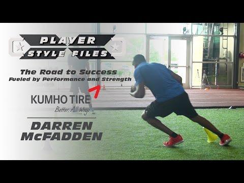 Player Style Files:  Darren McFadden on Training