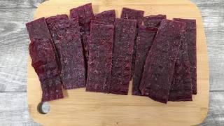 Easy Ground Beef Jerky Recipe -  Better Method For Making Ground Jerky!