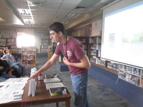 Kyrene del Pueblo Middle School Author Visit 2-12-16 Part 4