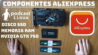 Componentes AliExpress: Unboxing