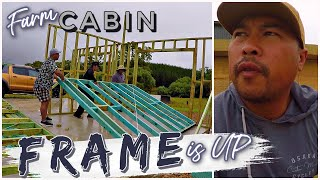 FRAMING OUT my Enтire OFF-Grid Cabin in 5 days! NO EXPERIENCE | Vlog Ep.7 Australia
