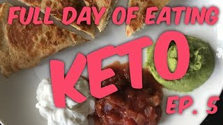 Keto Full Day of Eating - What to Eat on Ketogenic Diet