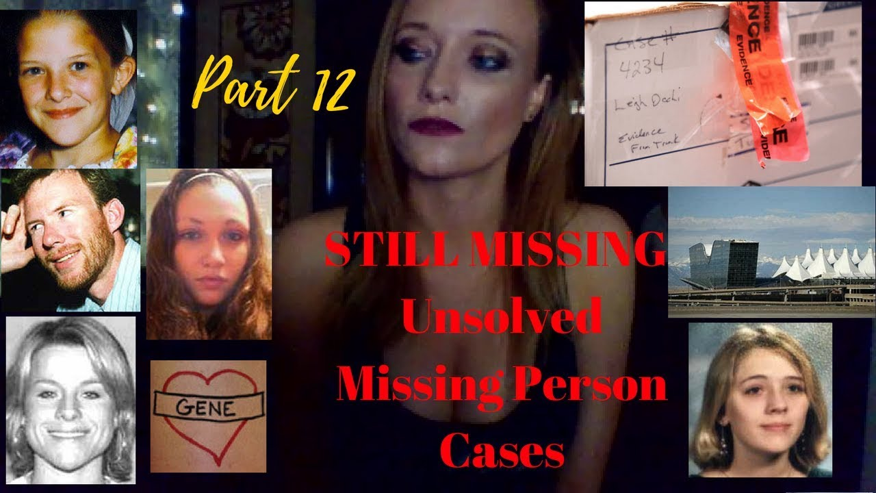 Still Missing -- Unsolved Missing Person Cases