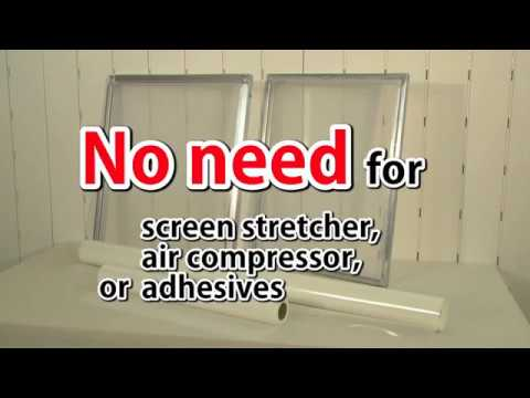 GOCCOPRO UK - How To Stretch Screens For Screen Printing
