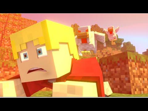 Animação Minecraft Revolta Das Galinhas  | Revenge Of The Chickens Minecraft Animation