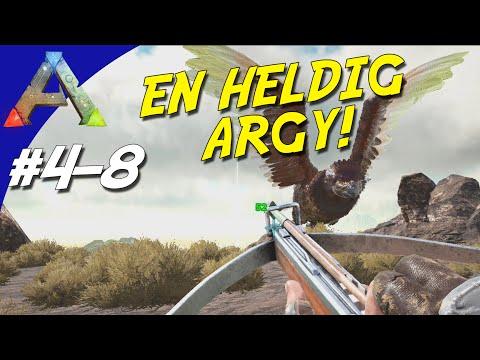 EN HELDIG ARGENTARVIS! - ARK Survival Evolved Dansk Sæson 4 - Ep 8 (Scorched Earth)