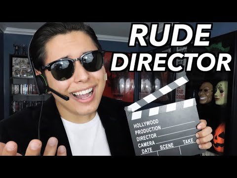 [ASMR] Rude Movie Director Role Play!