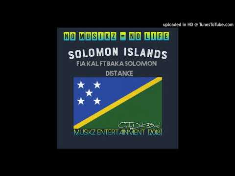 Fiakal x Baka Solomon - Distance (Solomon Islands Music  2018)