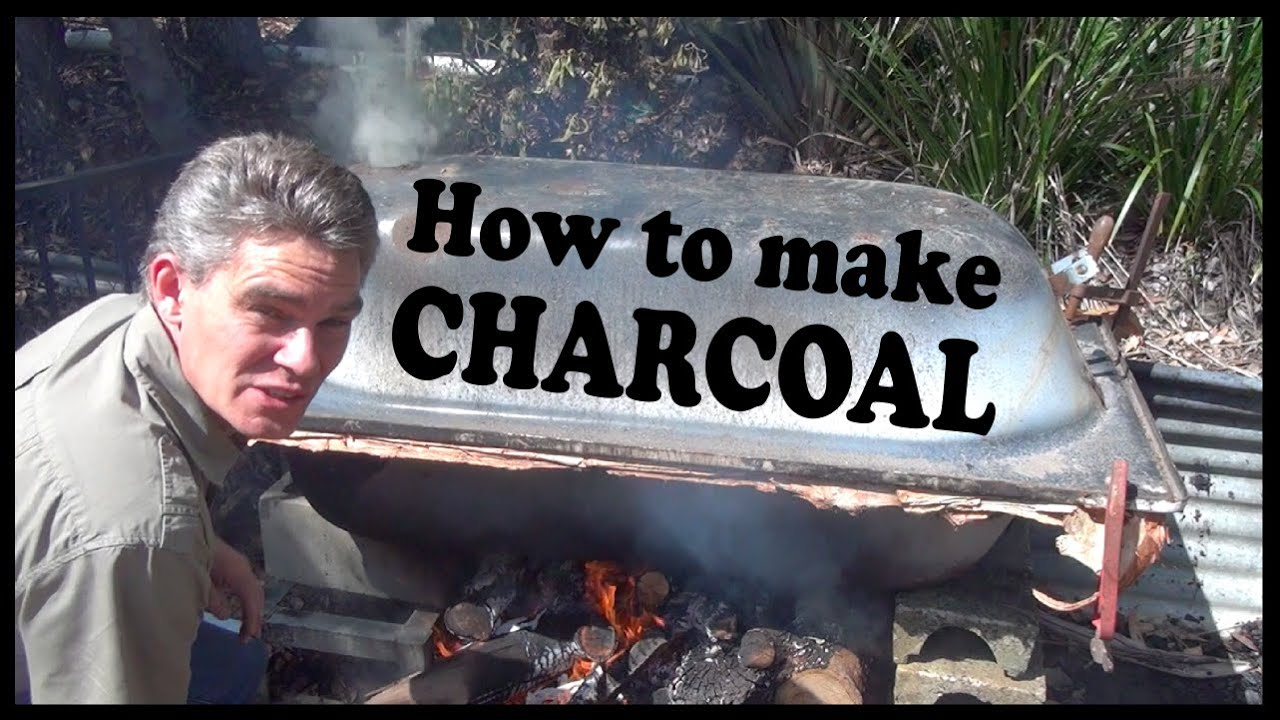 How to make your own charcoal  Make Science Fun  YouTube