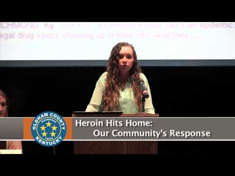 Heroin Hits Home Our Community's Response Part#1