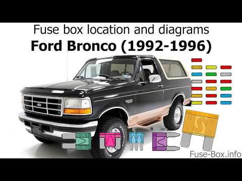 1992 Bronco Fuse Box | Wiring Diagram on crown victoria wiring harness, ramcharger wiring harness, mustang wiring harness,