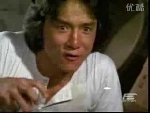 Jackie Chan's kung fu is inspired by the cat