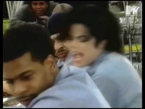 Michael Jackson - They don't care about us (shooting) (PART1)