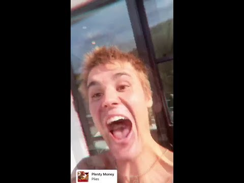 Justin Bieber toe dancing to Nights Like This by Kehlani on Instagram Live Stream - April 13-14 2019