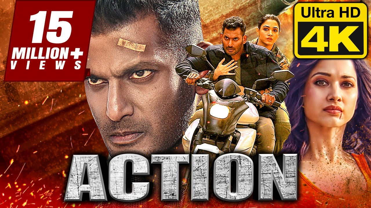 Download Action (2020) New Released Tamil Hindi Dubbed Full Movie 2020 | Vishal, Tamannaah