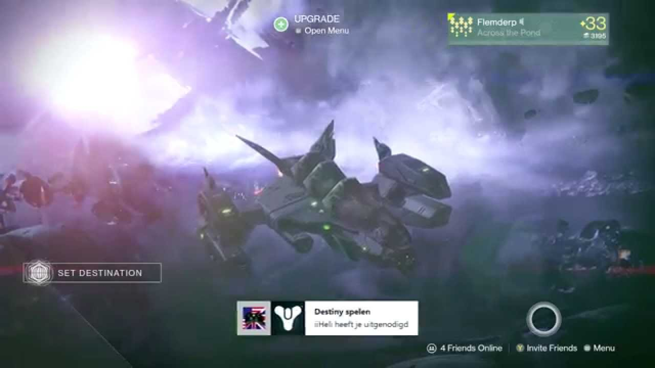 Destiny how to join a fireteam after round 4 in machine wrath skolas