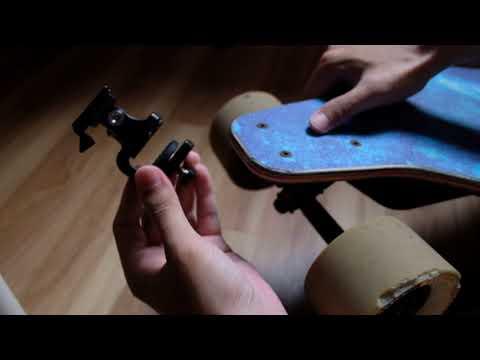 Surfboard Skateboard Stabilizer Bracket Mount Holder Stand Clip Clamp for GoPro