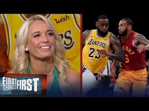 Sarah Kustok evaluates LeBron's Lakers after 104-96 win vs Pacers   NBA   FIRST THINGS FIRST