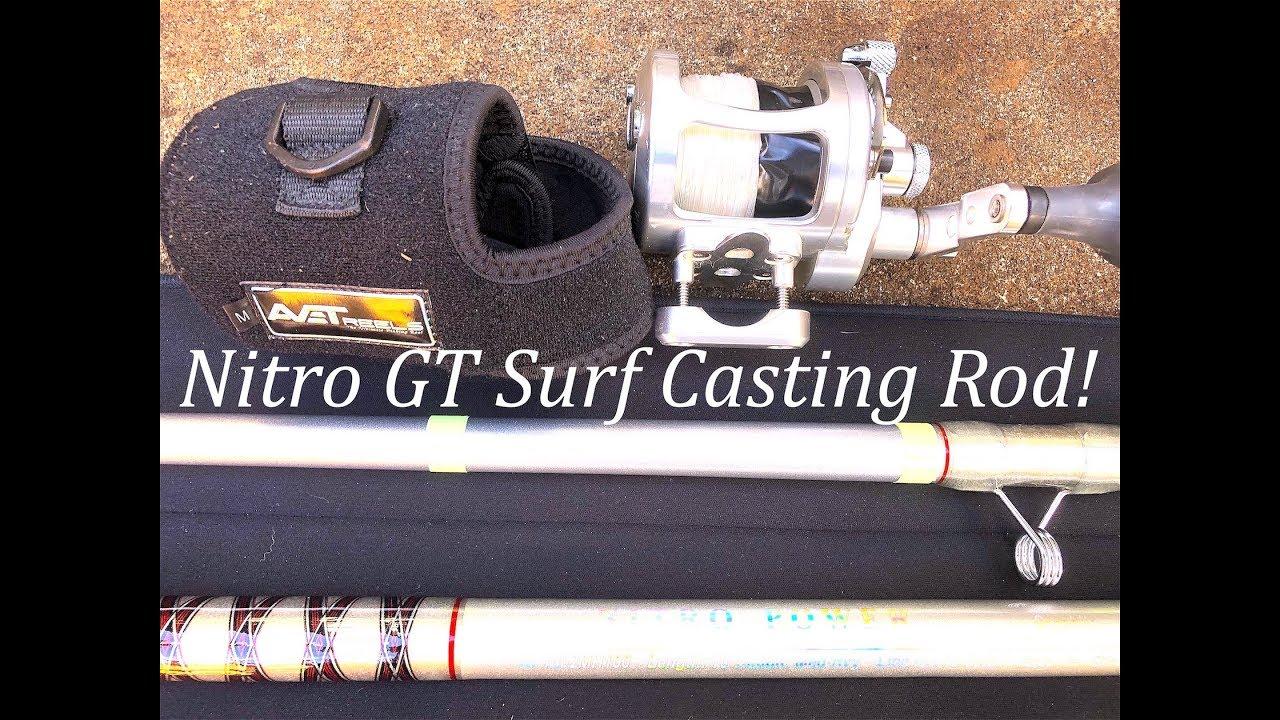 Nitro GT Surf Rod w/a Avet Raptor