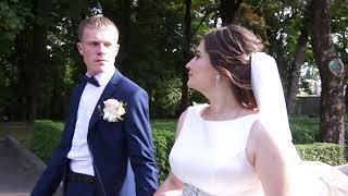 Свадебное Видео.Прогулка на комсомольской горке.