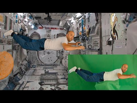 How to green screen Chroma key tutorial After effects SPACE ODYSSEY CHIPS