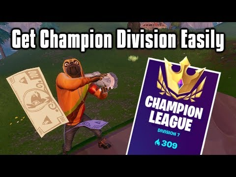 How To EASILY Reach Champion Division In Arena! - Fortnite Battle Royale