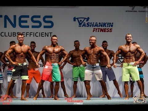 Пляжный бодибилдинг (Men's Physique) Чемпионат России Екатеринбург 22 октября 2016