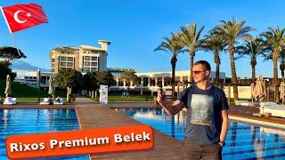 В шоке чем кормят на завтрак обед и ужин в отеле Rixos Premium Belek 5 Турции шикарныи пляж и тд