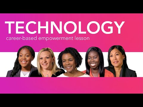 Technology Careers: Career Girls Empowerment Lesson