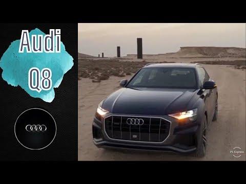 2019 Audi Q8 55TFSI In The Dubai Desert