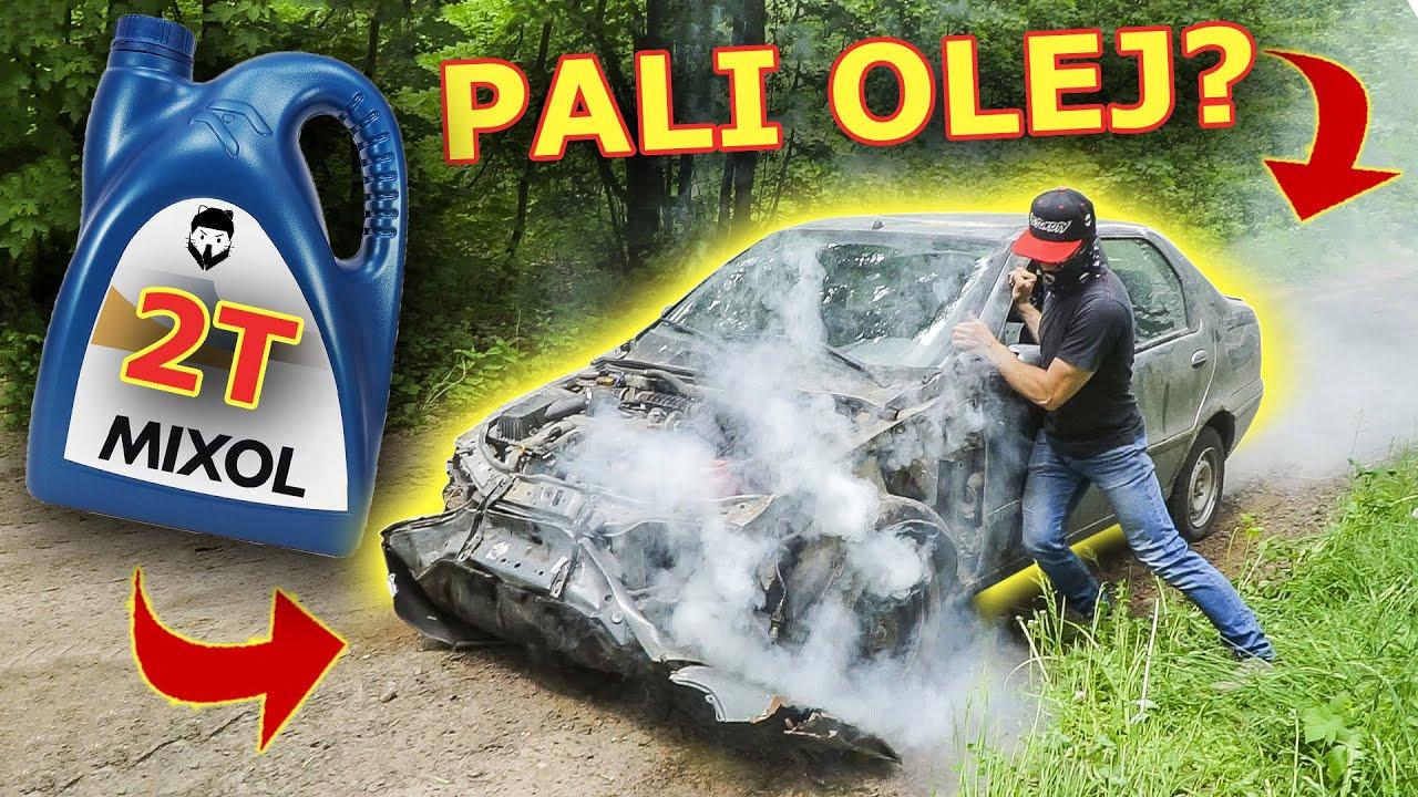 Zalaliśmy silnik auta olejem motocyklowym 2t