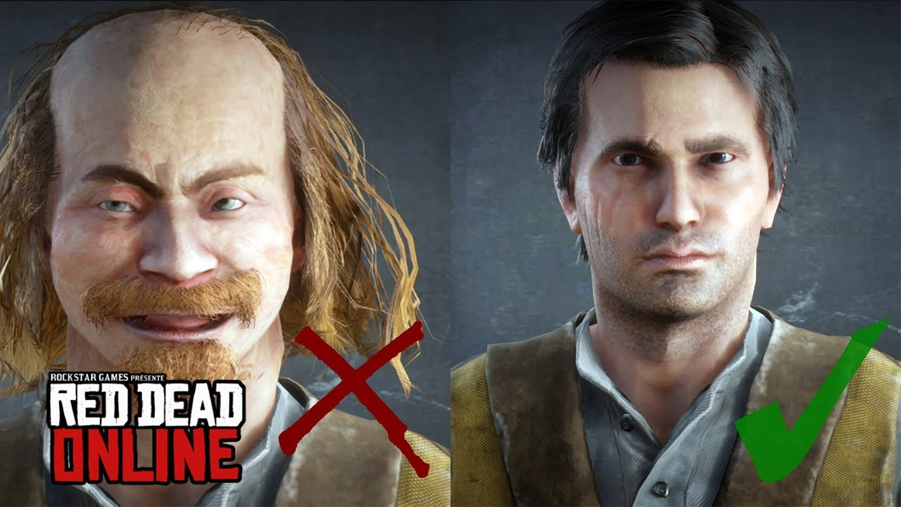 red dead redemption online character creation
