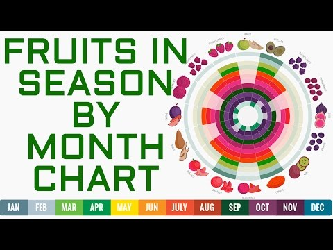 Complete List Of Fruits By Season