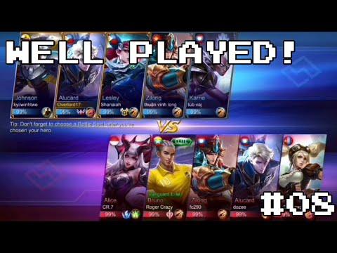 ALUCARD 14 KILLS!!! | Mobile Legends | Gameplay #08