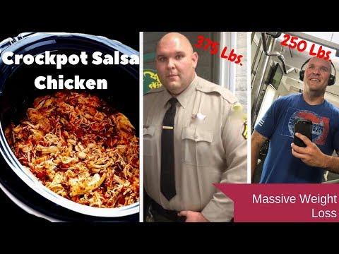 2-Ingredient Weight-Loss Mexican Crock Pot Salsa Chicken