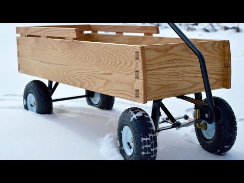 When a Woodworker Builds a Wagon
