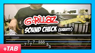 Gorillaz - Sound Check (Gravity) | Bass Cover + Live Tabs