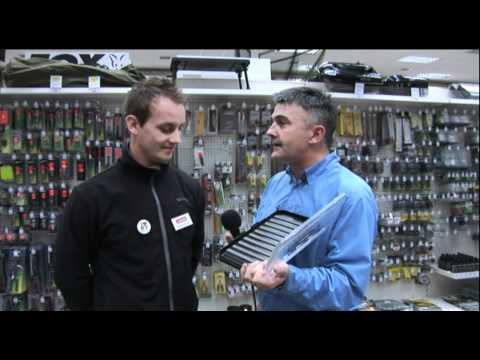 Hywel Morgan Interviews Wychwood Tackle At Glasgow Angling Centre