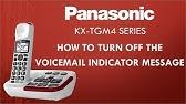 Panasonic telephone KX-TGFA30 - How to turn off the
