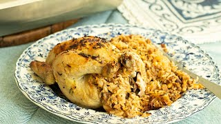 Stuffed Cornish Hens for your Holiday Table