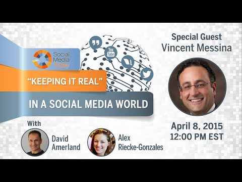 "#SMTPowerTalk ""Keeping it Real"" in a Social Media World"