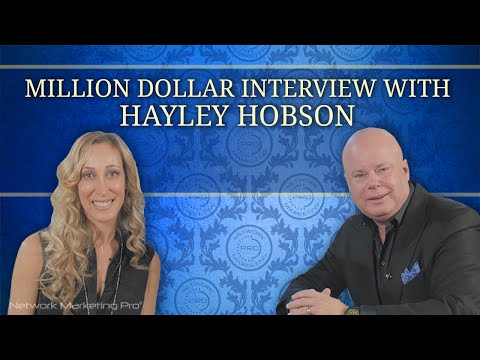 Million Dollar Interview with Hayley Hobson