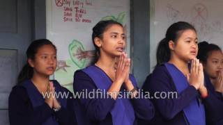 Going to School in Arunachal Pradesh, India