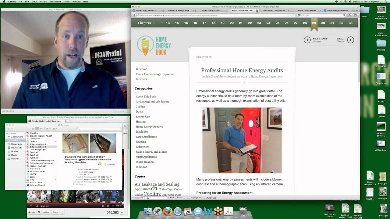 "Home Inspection Trainin Class: ""How to Write Home Energy Reports"""