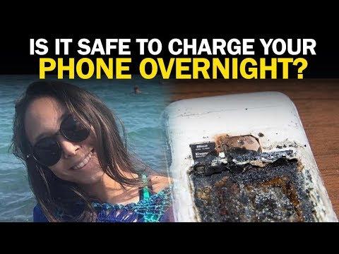 Girl Dies After Smartphone Explodes During Charging   NewsMo