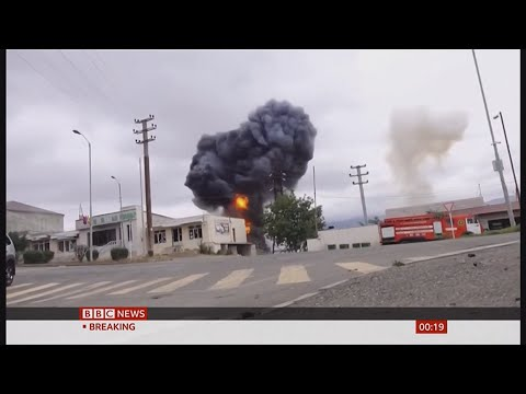 Nagorno-Karabakh War (1 Week) (Armenia \u0026 Azerbaijan) - BBC \u0026 Sky News - 5th October 2020