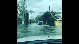 San Juan Roads Still Flooded in the Aftermath of Hurricane Maria