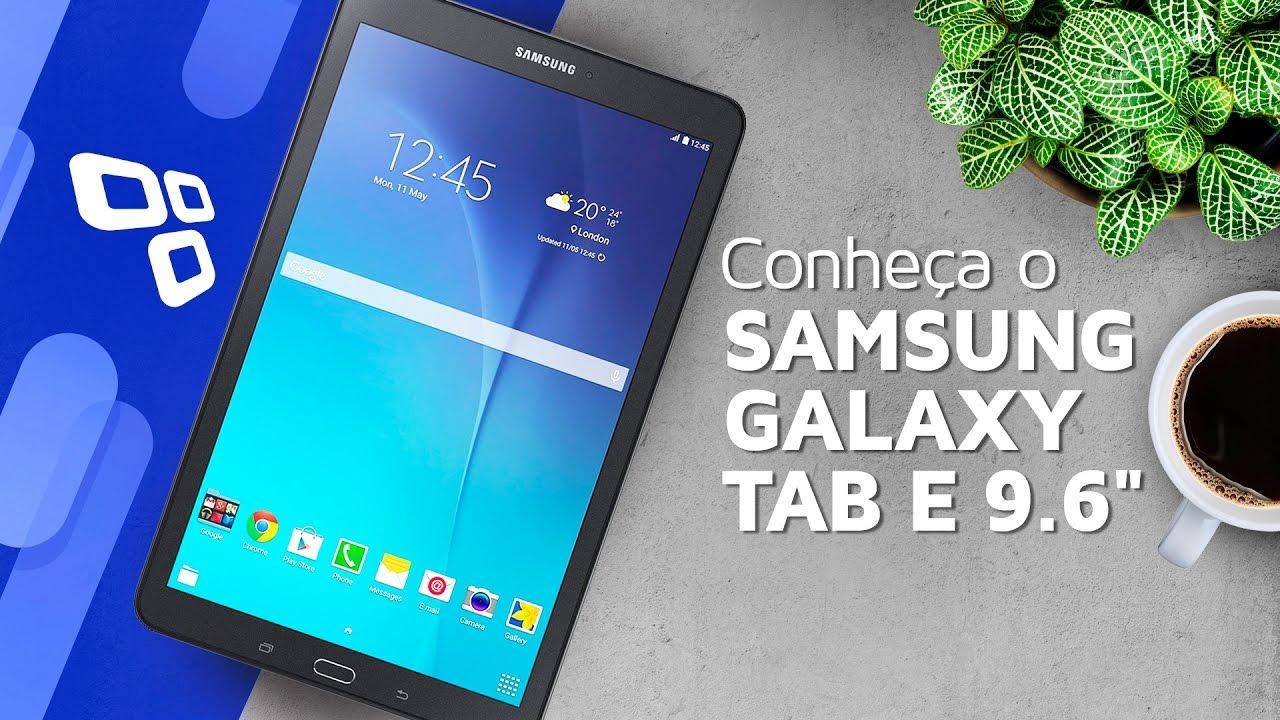 "033d085bc Conheça o Samsung Galaxy Tab E 9.6"" - TecMundo - YouTube"