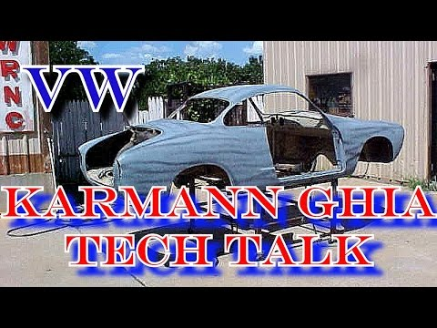 How To: Buy A Volkswagen-Karmann Ghia-Tech Talk-RUST And MORE!